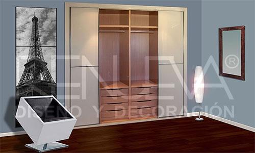 Interiores armario y vestidores en m laga interiores - Armarios a medida granada ...