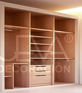 Interiores armario y vestidores en m laga interiores armario y vestidores en granada - Como forrar un armario por dentro ...