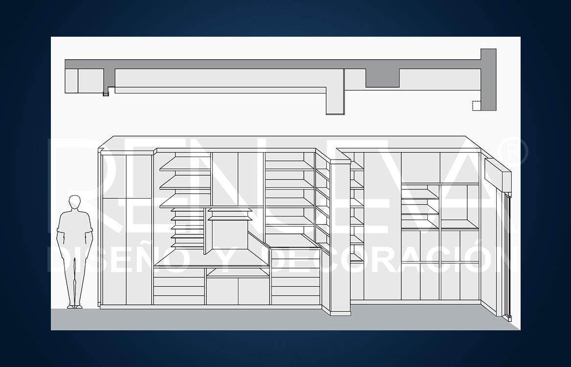 Decoracion de vivienda en sevilla dise o de mueble librer a - Librerias de diseno ...