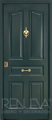 Puertas de exterior metalicas rusticas puertas de entrada for Puertas metalicas exterior baratas