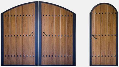 Puertas hierro exterior car interior design for Puertas metalicas exterior