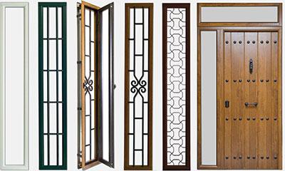 Puertas de exterior metalicas puertas de entrada for Puertas metalicas modernas para exterior