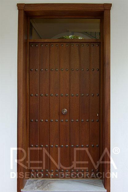 Puertas de entrada precios affordable puerta de entrada for Valor puertas madera