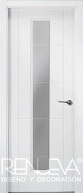 Puertas lacadas en blanco modernas precios puertas for Puertas lisas baratas