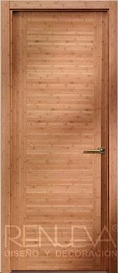 Puertas madera wengue sevilla puertas bambu sevilla puertas interior wengu puertas dise o bamb - Puertas de madera en sevilla ...